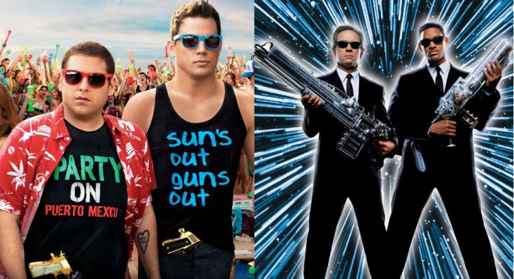 Crossover Men in Black 23 Jump Street