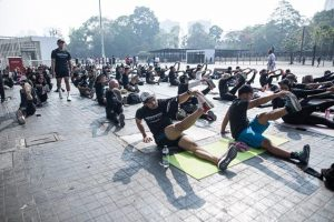 Fitness boot camp terminator
